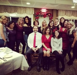 Christmas-office-party-2017-30 Bridgewater family dental doctors and staff