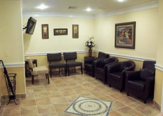 Our warm and welcoming reception area.
